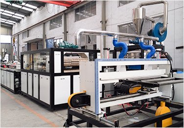 WPC PVC door board extrusion line