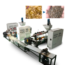 PE PP Vertical Force Feeder Pelletizing Line