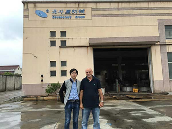 Customer from Nigeria visited our factory